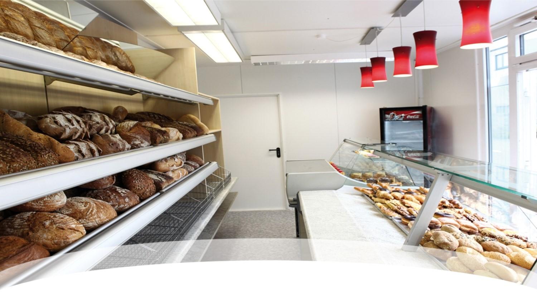 Bäckerei Verkaufsmodul 7x3m