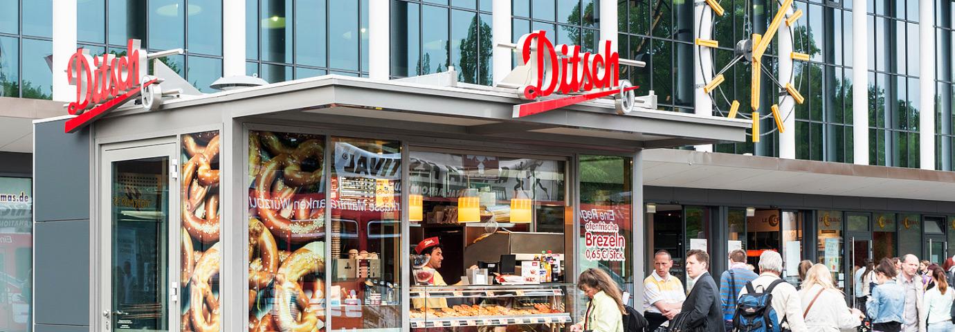 Verkaufskiosk, Kiosk, Bude, Verkaufsstand