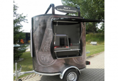 Verkaufsanhänger, Streetfood: Trailer Oval 3800 - shopunits.de