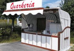 Verkaufskiosk Strandkorb Bar