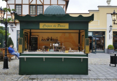 Verkaufsstand, Verkaufskiosk: Kiosk Creperie - shopunits.de