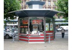 Verkaufsstand, Verkaufskiosk: Verkaufskiosk Glas Tower - shopunits.de