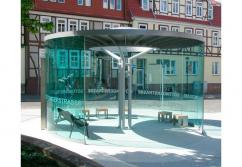 Verkaufsstand, Verkaufskiosk: Wetterschutz transparent - shopunits.de