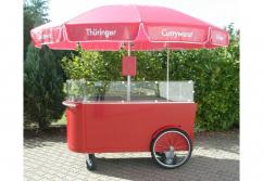 Verkaufsstand, Verkaufstheke: Verkaufswagen Grill Rolli