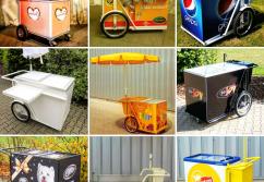 Verkaufsstand, Verkaufstheke: Verkaufswagen Multi Trolley
