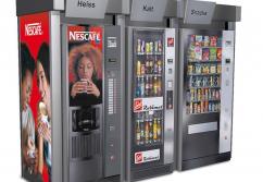 Verkaufsstand, Verkaufstheke: Automatenverkleidung Vending Point