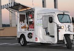 Verkaufs-, Event- und Promotionmobil - E-Tuk, Vendo GT