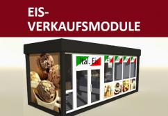 Eis-Verkaufscontainer für Ihr Saisongeschäft oder Umbauten
