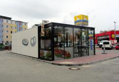 Verkaufspavillon | 55252 Wiesbaden- 76 qm, Backshop (inkl. Drive)