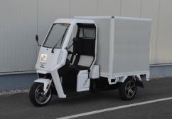 ARI-345 e-Ladenmopeds ★ Träger - Pritsche - Koffer!