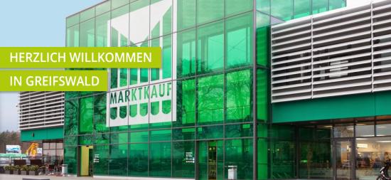 Einkaufszentrum ✩ Marktkauf-Center Greifswald-Neuenkirchen