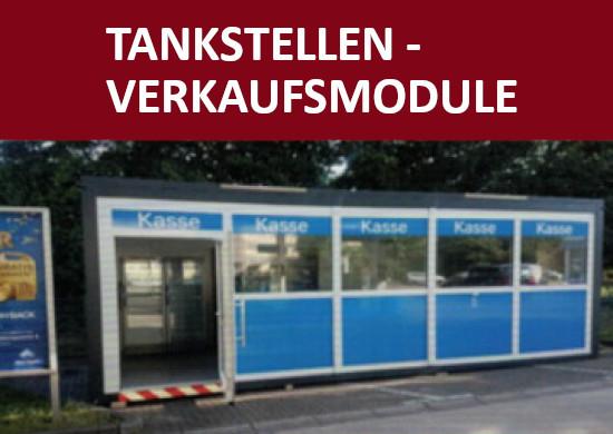 Tankstellen Verkaufscontainer für Umbauten