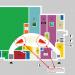 Einkaufszentrum ✩ Marktkauf-Center Wismar, Lage der Sonderflächen